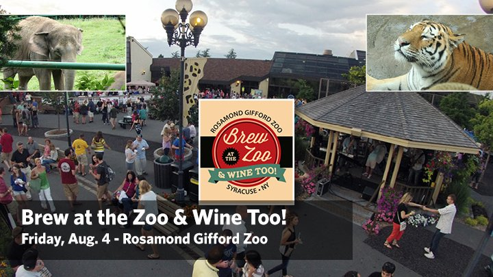 Brew at the Zoo & Wine Too!