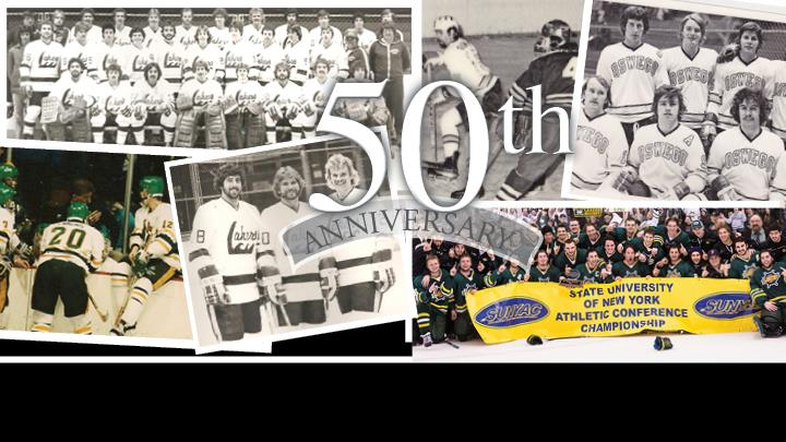 Men's Hockey 50th Anniversary Celebration