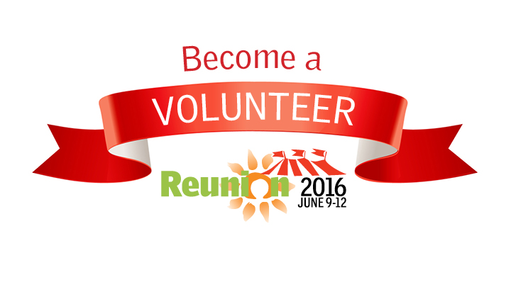 Reunion Volunteer