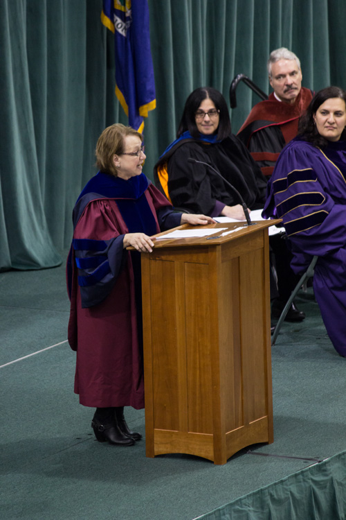 Keynote speaker Dr. Raelynn Cooter '77