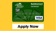 Bank of America credit card image