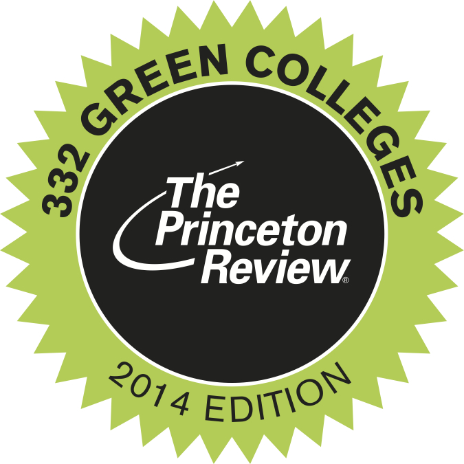 Green Princeton Review Seal