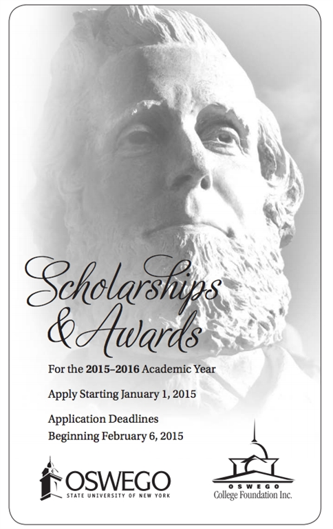 2015-2016 Scholarship Newsletter
