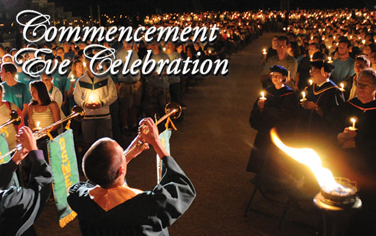 Commencement Eve Torchlight Dinner 2014