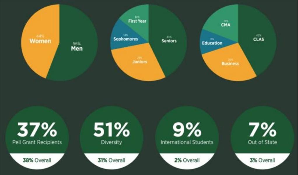 participant demographic chart